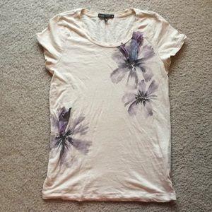 J. Crew Raw Edge Sz S T-Shirt